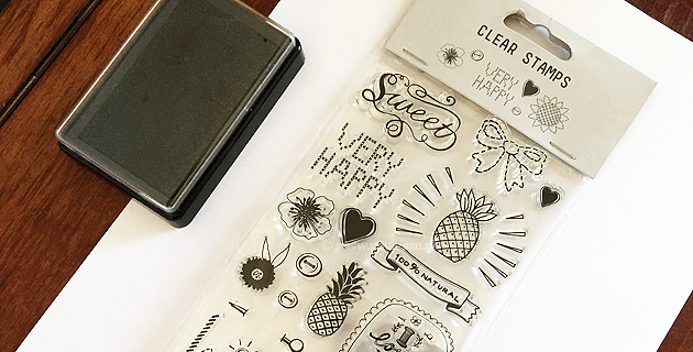 HEMA clear stamps
