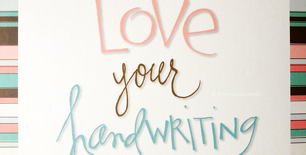 Love Your Handwriting