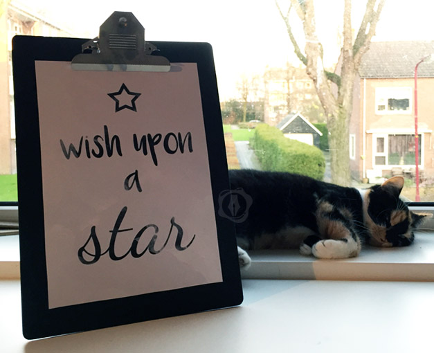 Printable wish upon a star